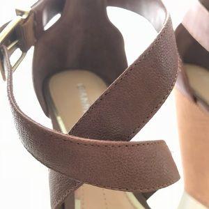 Shoesscottie Sandals Wedge Bini Poshmark Leather Gianni Wkuzitopx TlFJcK13